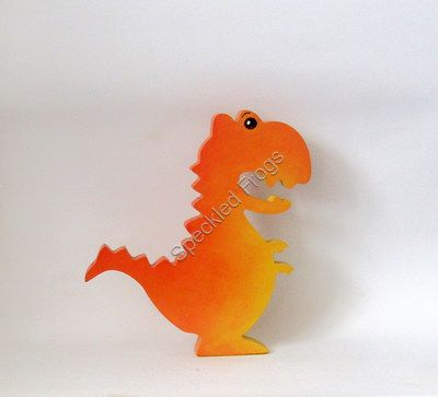 Free Standing Wooden Dinosaur ornament