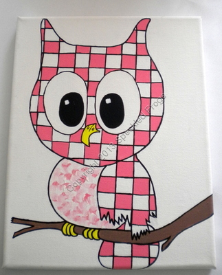 Little Toots the Owl. Pink