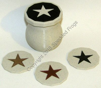 Marble effect Mini Storage Pot