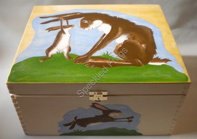 Rabbits Keepsake Box.