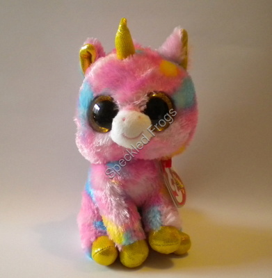 Ty Beanie Boos, Fantasia the Unicorn. 6""